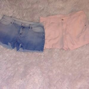 Lot 2 shorts size 12 Lauren Conrad & sonoma